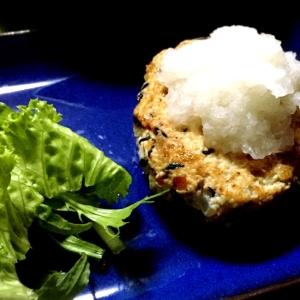 簡単!つなぎナシ豆腐ハンバーグ