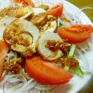 野菜たっぷり~☆蒸し鶏サラダ☆
