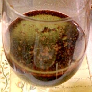 甘めのクランベリー入りの赤ワインカクテル☆