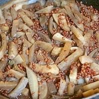 蕪とたかきび煮