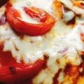 ナスとトマトのミートグラタン