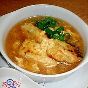 こってり!揚げだし中華スープ