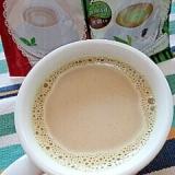 ホッと☆抹茶入り玄米茶のきなこカフェオレ♪