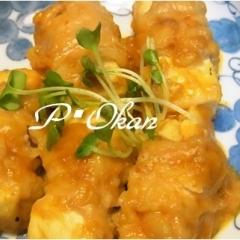 ボリューム満点☆肉巻き豆腐