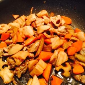 根野菜たっぷり!ほっこり味の筑前煮