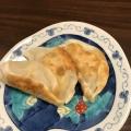 かぼちゃとコーンとチーズの餃子の皮焼き