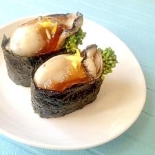 春の牡蠣メニュー♪菜の花と牡蠣の軍艦巻き