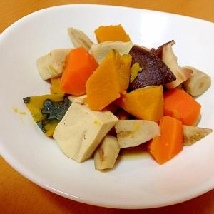 栄養たっぷり(・o・)こうや豆腐の煮物