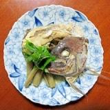鯛と牛蒡のアラ炊き