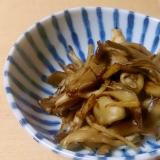我が家の常備菜~舞茸の佃煮~