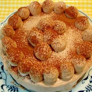 シンプル チョコケーキ