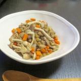 レンズ豆と大根のさっぱり塩煮