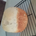 米粉ブレンドのプレーン食パン@ホームベーカリー