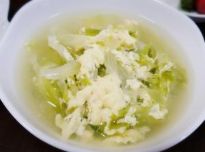 簡単!! 大量キャベツの和風塩スープ☆