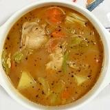 手羽元のスープカレー