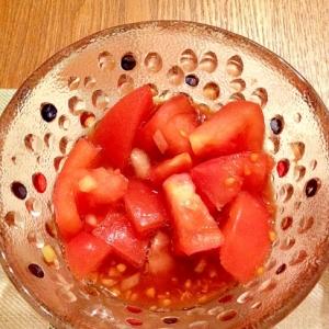 トマトとオニオンのバルサミコマリネ