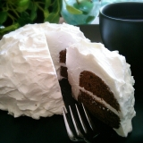 糖質制限★小麦粉不使用★ズコット風おからケーキ♡