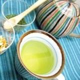 自家製陳皮deみかん緑茶♪