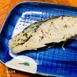 サワラの焼き魚。塩焼き