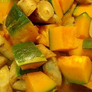 牛蒡と南瓜の煮物 カレー風味