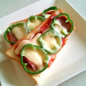 ケチャップでめちゃウマ☆ピザトースト