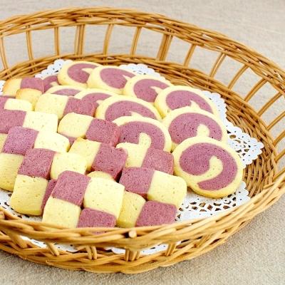 初めてでも簡単!可愛い「紅芋」の「アイスボックスクッキー」は手土産にピッタリ