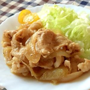 コク旨っ♫豚こま肉のハニーマヨ醤油炒め