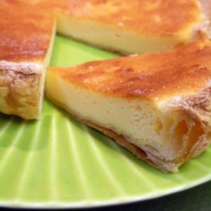 レモンの香りが美味しいチーズケーキパイ!