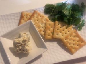 持ち寄りの一品に♪トムヤム塩でクリームチーズ☆