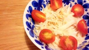 【塩レモン】 大根とツナのサラダ