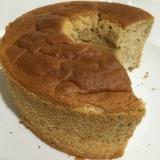 バナナときな粉の米粉シフォンケーキ
