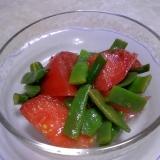 彩り鮮やか♡トマトといんげんのサラダ♡