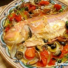 簡単なのに絶品♪白身魚deアクアパッツァ