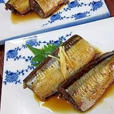 骨までホロホロ♪秋刀魚の梅干煮