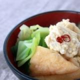 キャベツと鶏つくねの簡単塩麹鍋