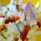 ❤ 塩ドライトマト入りポテトサラダ ❤
