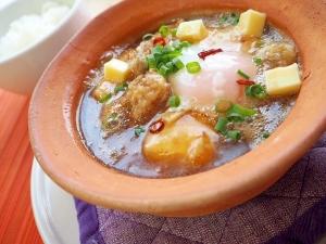 揚げ出し牡蠣豆腐