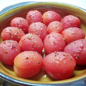 簡単一品!焼きミニトマト