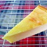 べイクドだけど重くない★さつま芋のチーズケーキ