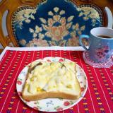 茹で卵トースト