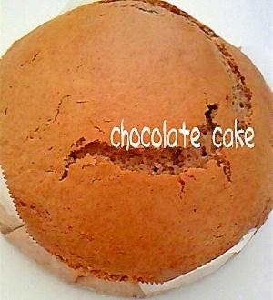 混ぜて焼くだけ♪お手軽チョコレートケーキ