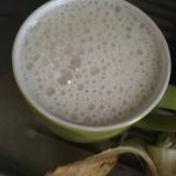 日本酒を使ったバナナスムージー