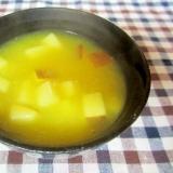 りんごと生姜入りオレンジジュースくず湯