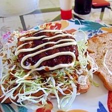 塩麹で☆玉ねぎの豚肉くるくるカツバーガー