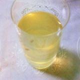☆*:・★熱中症対策!昆布レモン水☆*:・★