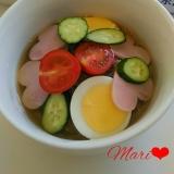 ハートハムのふるる冷麺