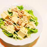 豆腐とセロリとツナのサラダ
