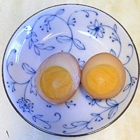 煮豚の煮汁を使って!煮卵