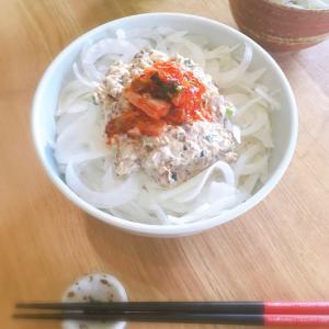 サバ缶で簡単☆サバマヨ丼♪