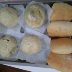 ヘルシーサツマイモ(焼き・蒸し)パン